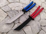 dao bướm xanh đỏ lưỡi tanto