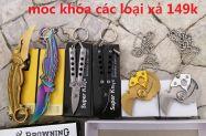 móc khóa dao bướm karambit dây chuyền