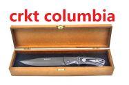 dao găm CRKT Columbia USA 28cm túi da hộp gỗ