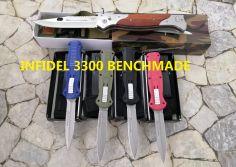 Dao bấm Benchmade 3300 Infidel
