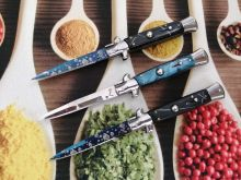 dao bấm cá kiếm AKC xanh 23cm