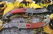 dao phong thủy ngọc châu 32cm trưng bày