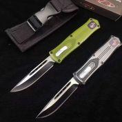 dao bấm Microtech USA 2021 xanh xám