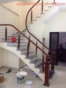 Cầu thang inox PT 006