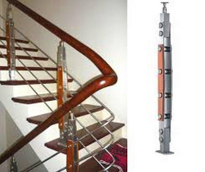 Cầu thang inox PT 013