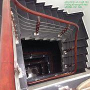 Cầu thang inox PT 020