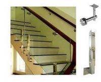 Cầu thang kính PT 012