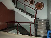 Cầu thang kính PT 001