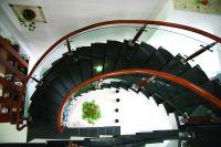 Cầu thang kính PT 006