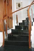 Cầu thang kính PT 007
