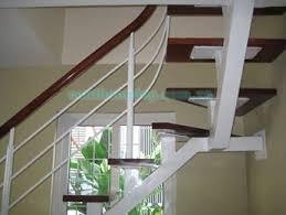 Cầu thang xương cá PT 005