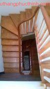 Cầu thang gỗ PT 05