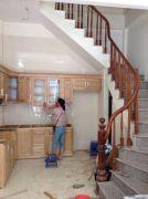 Cầu thang gỗ PT 017