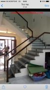 Cầu thang kính PT 002