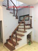 Cầu thang inox PT 012