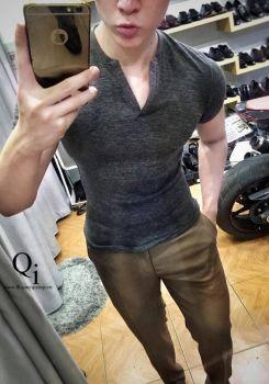 Áo Phông TX026 Ghi
