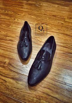Giày da CRAZIM Lười Rắn