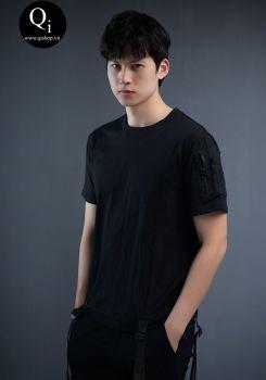 Áo phông đen T3005D