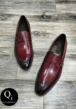 Giày da CRAZIM DH621-2066 đỏ