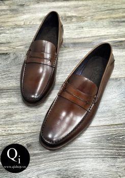 Giày da CRAZIM E709-2 nâu
