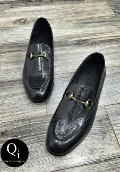 Giày da CRAZIM E710-6 đen bóng