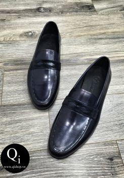 Giày da CRAZIM E608-5 ánh xanh