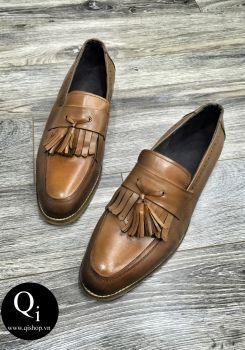Giày da CRAZIM X003 nâu