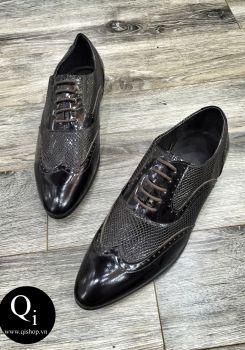 Giày da CRAZIM A06 nâu