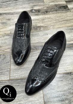 Giày da CRAZIM A06 Đen