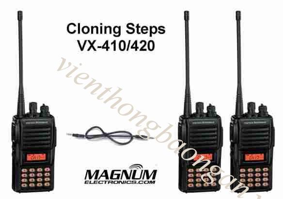 Bộ đàm cầm tay Vertex Standard VX 420