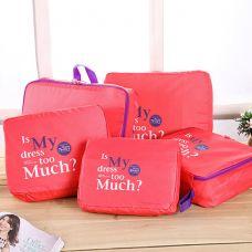 Bộ 5 Túi Bag In Bags Cao Cấp (còn xanh lá)