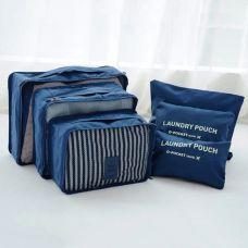 Bộ 6 Túi Bags In Bag Cao Cấp Xếp Gọn ( tạm hết)