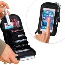 Túi NameCard Đựng Điện Thoại + Thẻ ATM Tiện Lợi( tạm hết)
