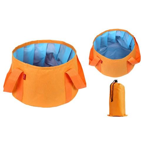 Túi lớn ngâm chân thư giản kèm túi đựng - cam
