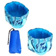 Túi lớn ngâm chân thư giản kèm túi đựng - xanh