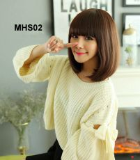 Bộ Tóc Ngắn Hàn Quốc MHS02( tặng trùm tóc)