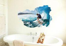 Decal Lướt Sóng Biển
