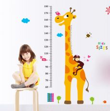 Decal Đo Chiều Cao Kid Sizes