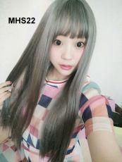 Bộ Tóc Bạch Kim Dài Mái Ngang MHS22( tặng trùm tóc)