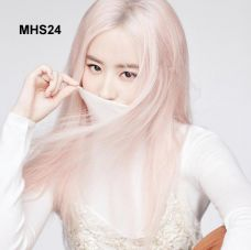 Bộ Tóc Khói Hồng Hàn Quốc MHS24( tặng trùm tóc)