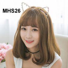 Bộ Tóc Cúp Đuôi Mái Thưa Hàn Quốc MHS26 (tặng trùm tóc)