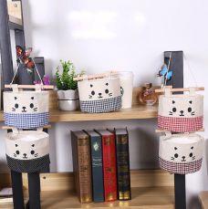 Combo 3 Túi Treo Tường Vải Bố Hình Mèo