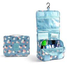 Túi Toiletry Đa Năng Chống Thấm Cao Cấp (hoa xanh, hoa đỏ)