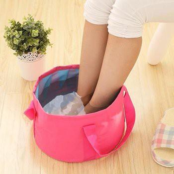 Túi Ngâm Chân Kèm Túi ( hồng nhạt, xanh dương, xanh lá)