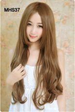 Tóc Bo Mặt Hàn Quốc MHS37 ( tặng trùm tóc)