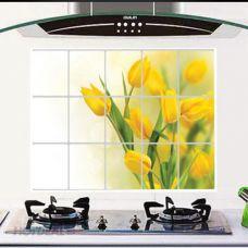 Giấy Dán Cách Nhiệt Nhà Bếp ( 45X75 cm) ( mẫu ngẫu nhiên)