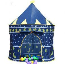 Lều Công Chúa (Hoàng Tử) Cho Bé - (không kèm banh ) - xanh
