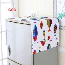 Tấm Phủ Tủ Lạnh - Máy Giặt Cao Cấp (cá,lồng chim,thú, hh)