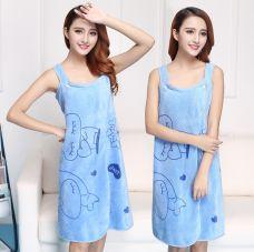 Khăn Tắm Vải Đa Năng 2 In 1 ( hồng , xanh)