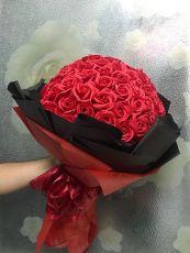 Bó hoa hồng 99 bông ( tạm hết)